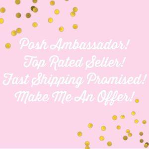 Posh Ambassador & Top Rated Seller!! ⭐️⭐️⭐️